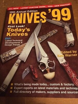 KNIVES '99 - 19 Th edition  -Krasue Publications  Knife Collectors BOOK 1999