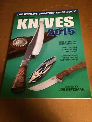 KNIVES 2015    35 th Annual Krause Publications BOOK  Knife Collector Book