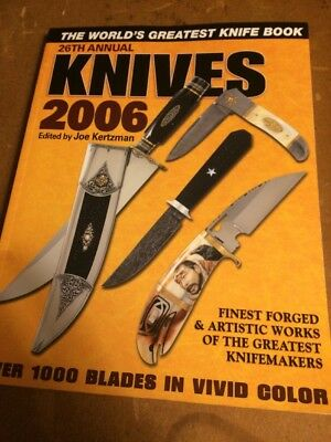 KNIVES  2006 - 26 Th  Annual -KP  Publications  Knife Collectors BOOK 2006