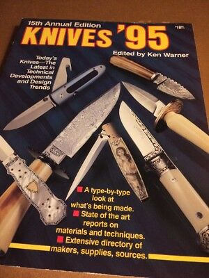 KNIVES  '95 1995 - 15 11 Th  Annual DBI Publications  Knife Collectors BOOK 1995