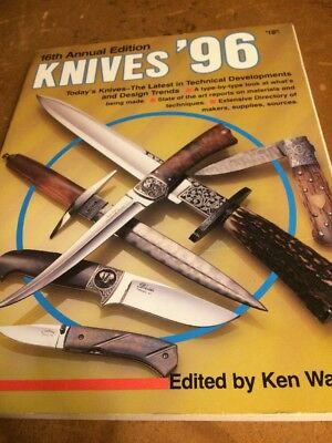 KNIVES ' 96 - 16 Th  Annual -DBI Publications  Knife Collectors BOOK 1996