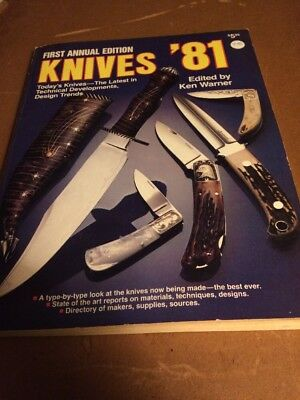 KNIVES  '81 - 1981  FIRST Annual DBI Publications  Knife Collectors BOOK 1981