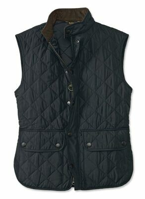 Barbour Men's Lowerdale Gilet / Vest, XXL, Navy Blue, New With Tags