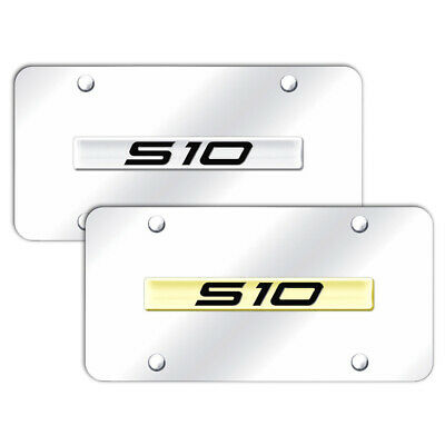 AUGDP1606 Name Stainless Steel License Plate for 300M