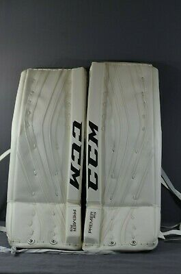 CCM PREMIER R1 9 Senior Ice Hockey Goalie Pads 33+1