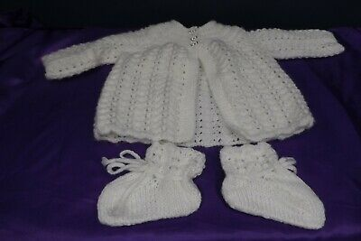 new hand knitted baby cardigan