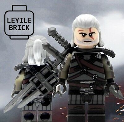 LYL BRICK Custom The Witcher Lego Minifigure