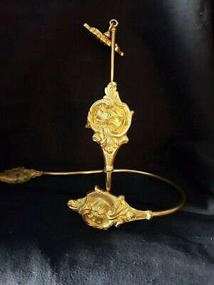 Large Set For French Curtains Antique Gilt Bronze Louis XVI Style 19Th.
