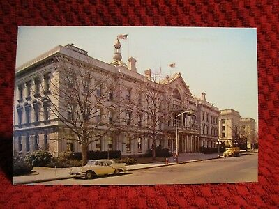 1960'S Chrome. State Capitol. Trenton, Mercer County, New Jersey. Postcard D2