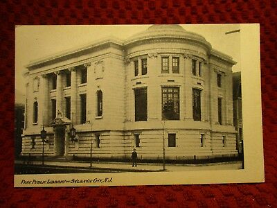 Early 1900'S. Free Public Library Of Atlantic City, New Jersey. Postcard G8
