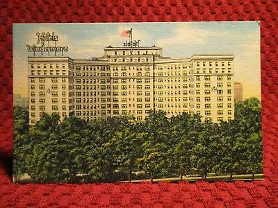 1940'S. Hotel Windermere. Chicago, Ill. Postcard G6