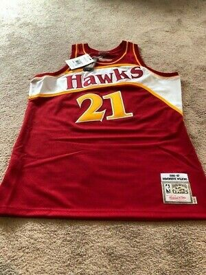a036750c5248 Authentic Mitchell   Ness 1986-87 Dominique Wilkins Jersey-Adult Xl (48)