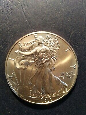 2012 American Silver Eagle One Dollar 1 Troy Oz.  .999 Fine Silver Coin