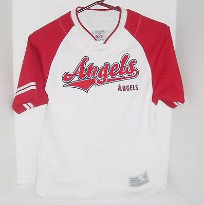 06064bf13 Los Angeles Angels Baseball Jersey True Fan Series Youth Size Medium