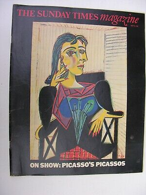 SUNDAY TIMES July 19 1981 Lord Porchester Pablo Picasso St Pauls Cathedral Choir