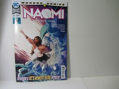 NAOMI #4 Brian Michael Bendis Cover A  - 4/17/19 Sold Out   vf-nm