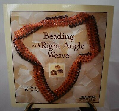 Beading with Right Angle Weave paperback book by Christine Prussing 2004