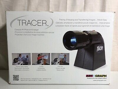 Artograph Tracer Opaque Art Projector/Enlarger, Black - (Model 225-360)
