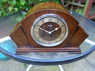 Garrard / Smith Synchronous Electric Fully Restored Westminster Chiming Clock.