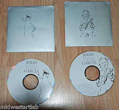 Jerry Garcia David Grisman Collected Artwork 2 CD Set Grateful Dead Music Songs