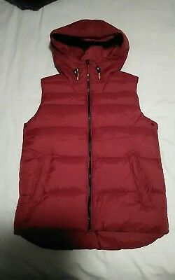 Next Red Gilet Age 10 Years