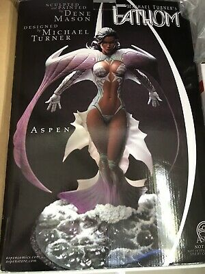 Michael Turner Fathom Aspen Matthews Statue 1/4 Scale # 892/900 New In Box