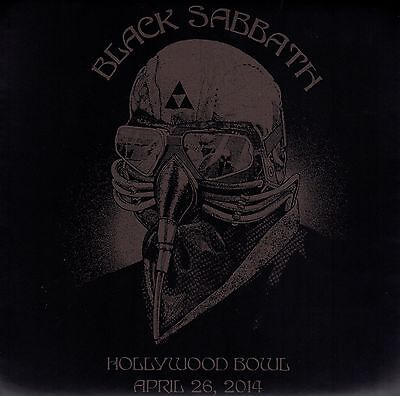 BLACK SABBATH Seat Cushion from Hollywood Bowl 4/26/14