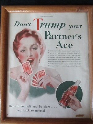 CocaCola vintage advertising picture
