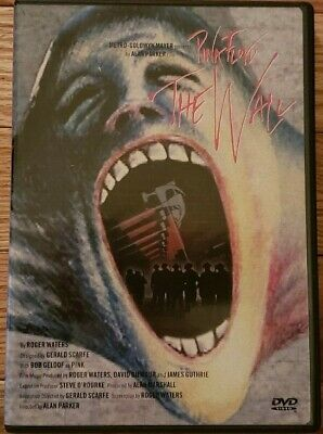 Pink Floyd - The Wall (DVD 1999) Deluxe Edition W/Poster Roger Waters *LIKE NEW*