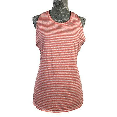 7bf088807a CALIA By CARRIE UNDERWOOD Womens Tank Top Activewear Drape Side Double Layer