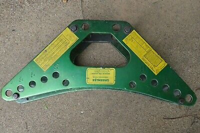 Greenlee 880 Hydraulic Pipe Bender Frame