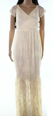 ae200d3915f Designer Brand NEW White Ivory Womens Size Large L Lace Maxi Dress  60- 267