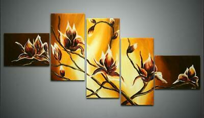 Large Modern Abstract Oil Painting on Canvas Contemporary Wall Art Framed aps322