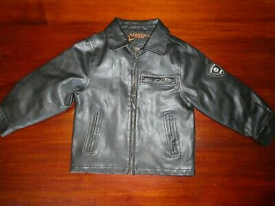 2322af017 BOYS BROWN HAWKE & Co Outfitter Lined Bomber Jacket Size 5 - $7.50 ...