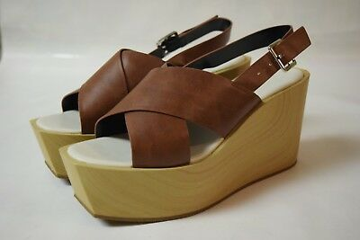31a4058fc49 CHARLES AND KEITH Platform/ Red/Open Toe/Sandals - Size 7 us / 38 ...