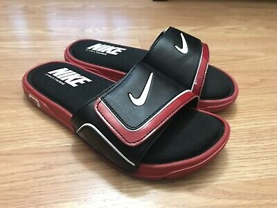 049e965ce10f Nike Comfort Slide 2 Boy s Shoes Size 6Y Black Red 6 GS Kids Sandals 631719-