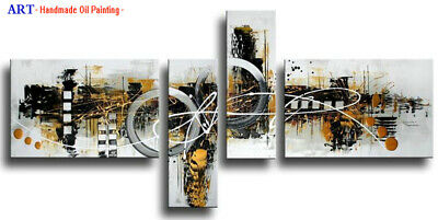 Large Modern Contemporary Abstract Oil Painting on Canvas Wall Art Framed aps03