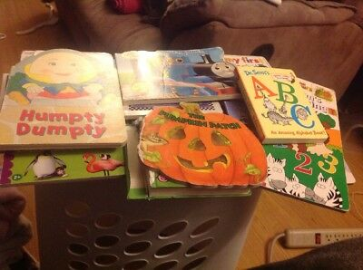 Huge Lot Of 20 Baby Toddler Chunky Board Books  - Counting Shapes And More