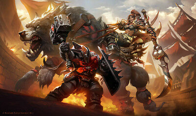 Video Game  World Of Warcraft WOW 24 X 14 Inch Home Decoration Poster