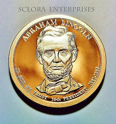 2010 S Abraham Lincoln Presidential  *PROOF* Dollar Coin **FREE SHIPPING**