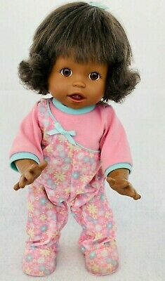 "2006 Aa 16"" Fisher Price Little Mommy Walk & Giggle Baby Doll - Works Perfectly"