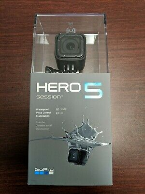 GoPro Hero5 Session Edition 4K Ultra HD, Wi-Fi Waterproof Camera NEW and Sealed