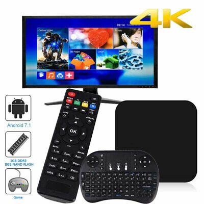 2019 MXQ PRO BOX ✔Quad-Core ✔Android 7.1 ✔SMART TV Box 4K - FAST DISPATCH UK