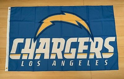 Los Angeles Chargers Flag Tailgate Banner 8ft x 2Ft LA flag