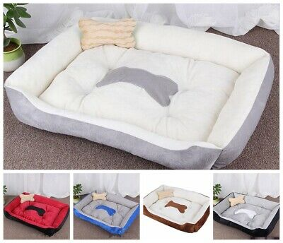 PaWz Heavy Duty Pet Bed Mattress Dog Cat Pad Mat Cushion M/L/XL New