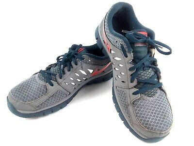 6fa36c24d198 Nike Flex 2013 Run Men s 10 Cool Grey   Red Sneakers Athletic Shoes -  579821-