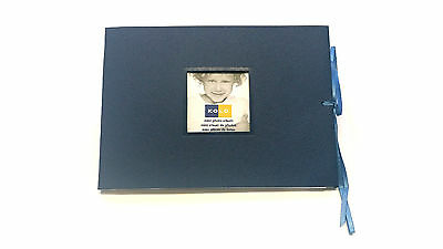 "3x Kolo Mini Photo Albums  5"" x 7"" Navy blue"