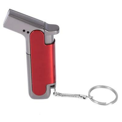 Metal Flame Inflatable lighter Butane Jet Torch Windproof Lighter Fire Ignition