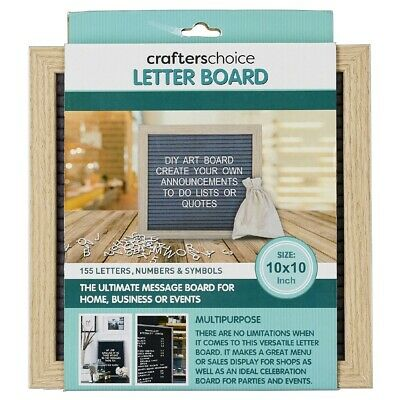 NEW Crafter's Choice 155 Letter Board By Spotlight