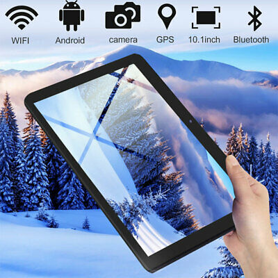"""10.1"""" Inch HD Tablet PC Android 7.0 Quad-core 32GB Google WIFI Dual Camera OTG"""